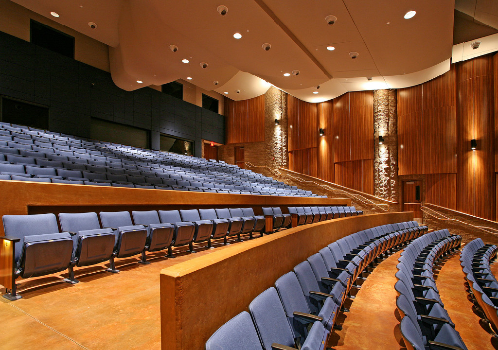 new construction performing art center
