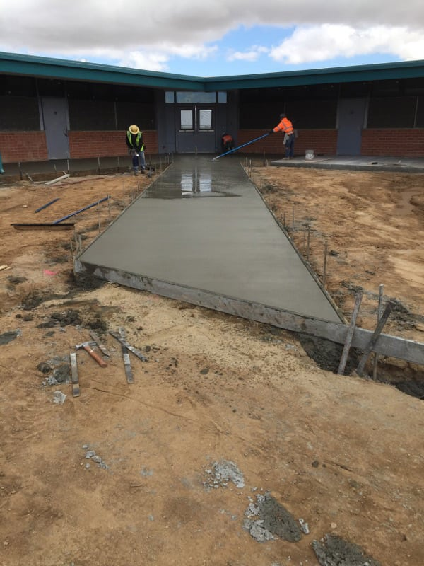 School construction in Palmdale