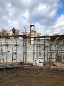 structural concrete project in Southern California