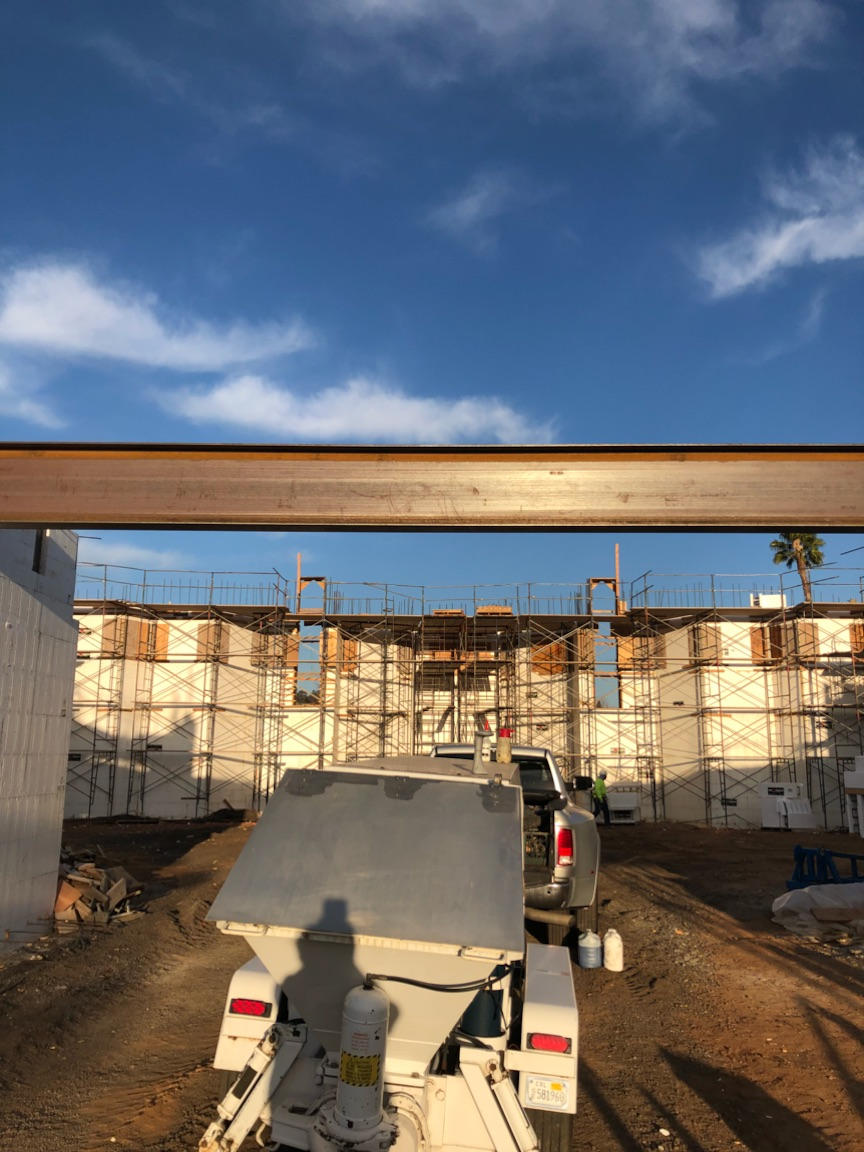 Church construction project in Escondido, CA