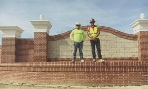 masonry brick project