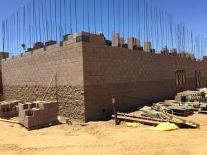 Masonry construction in california